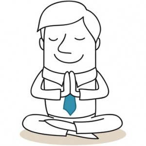 Geschäftsmann, Yoga 1