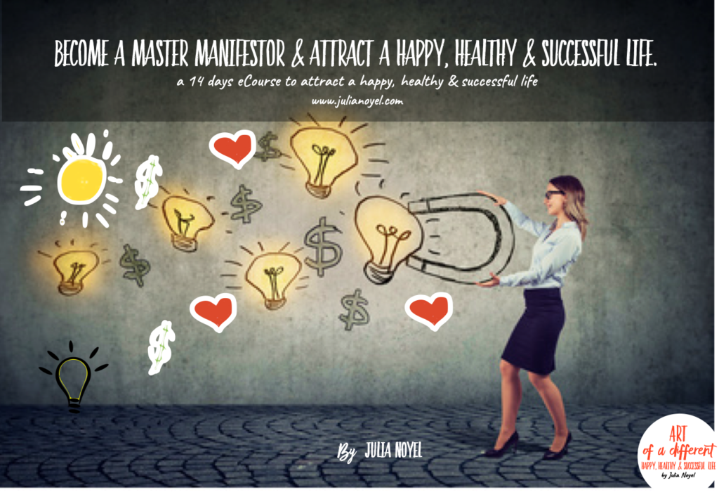eCourse become a master manifestor for a happy, healthy & successful life