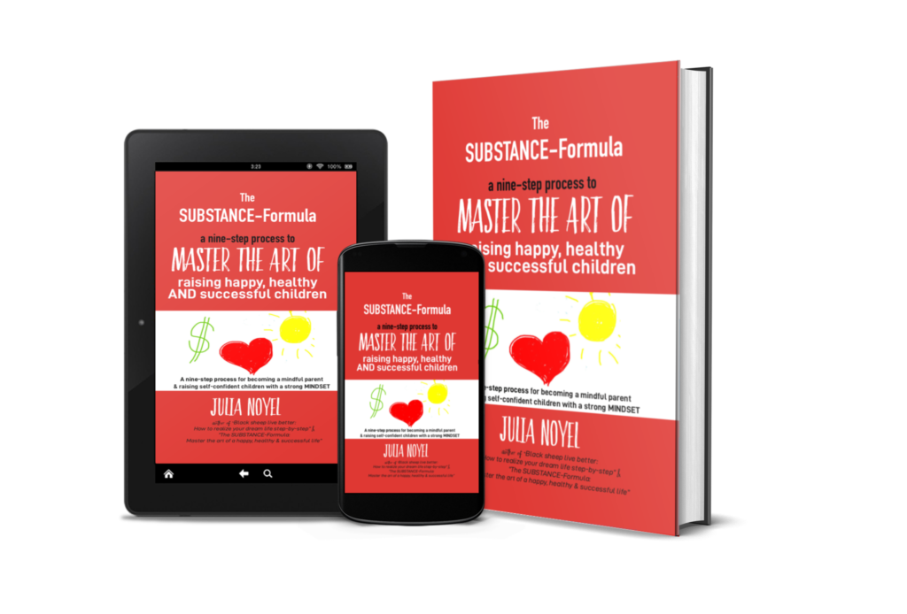 The SUBSTANCE-Formula: Master the art of raising happy, healthy & successful children (English Edition)