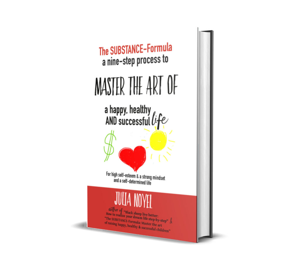Print Book The Substance-Formula Master the Art of a happy, healthy AND successful Life